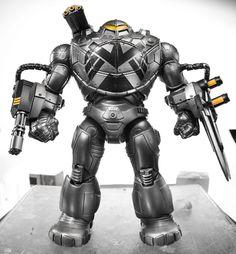 Captain America Legends Build-A-Figure Mandroid