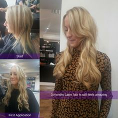 Look at these beautiful beauty-works Jen Atkins tape extensions by Clare after 3 months the condition is still amazing so worth every penny. Do you know we offer a free consultation for hair extensions?