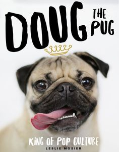 Doug The Pug - King of the Internet Hardback Book