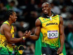 Yohan Blake Olympics Athletics