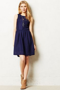 Textured Tank Dress #anthropologie #anthrofave