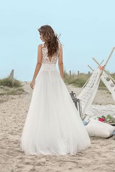 Robe de mariée Brandon - www.fabiennealagama.com #fabiennealagama#collection2017#robedemariee