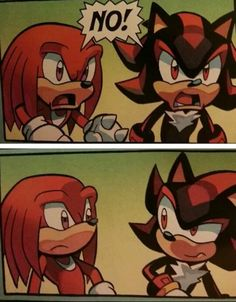 My 2 favorite fictional characters. Together..... I LOVE IT!! (Sonic Universe issue 67)