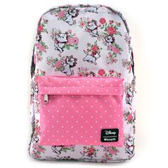 32f7a5ebe17 Loungefly x Disney Marie Floral Print Backpack - Disney - Brands