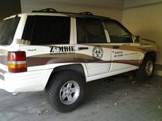 Zombie Response Team Vehicle - Car Costume Decorating CLICK HERE FOR A ZOMBIE VEHICLE!