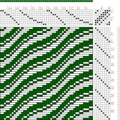 Hand Weaving Draft: 24101.1, 2500 Armature - Intreccio Per Tessuti Di Lana, Cotone, Rayon, Seta - Eugenio Poma, 8S, 8T - Handweaving.net Hand Weaving and Draft Archive
