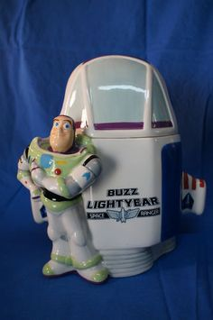 *BUZZ LIGHTYEAR SPACESHIP CERAMIC Ceramic Cookie Jar