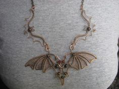 necklace Dance of the Bats. on a Russian website