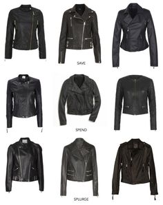 Closet Staple: Black Leather Jacket