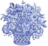38922 Blue Harmony Wild Flowers Waterslide Ceramic Decals By The Sheet X 2 * 12 pcs) - dash black friday Pottery Supplies, Pottery Classes, Ceramic Pottery, Pottery Art, Blue Flowers, Wild Flowers, Ana White, Blue And White, Pottery Store