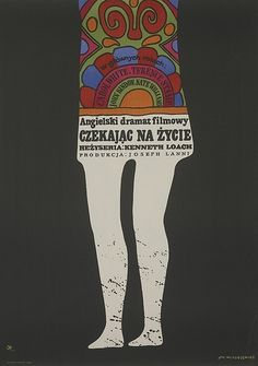 Sixties Polish movie poster