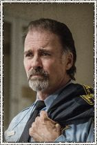 Character: Sheriff Duke Perkins Actor: Jeff Fahey Sheriff Perkins is the face of Chester's Mill - stoic, world-weary, unyielding - even if he had a hand in the town's dirty laundry. His mentorship of Linda will be felt for years to come in Chester's Mill, as she is forced to lift his mantle as the top cop under the dome.