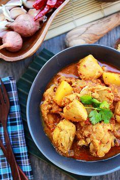 Devil's Curry, a Malaysian curry dish