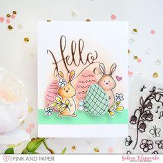 Easter card tutorial | Galina Filippenko