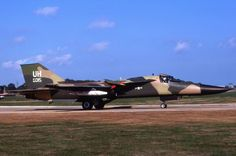 Original Aircraft Slide - USAF - General Dynamics F-111 Aardvark - USAFE - 1976 in Collectables, Transportation, Aeronautica, Airlines, Slides | eBay