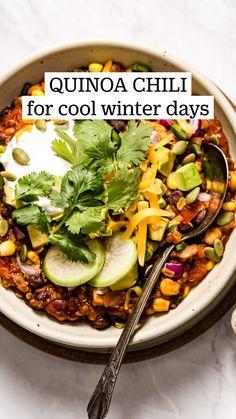 Best Soup Recipes, Good Healthy Recipes, Real Food Recipes, Vegetarian Recipes, Cooking Recipes, Healthy Chef, Healthy Cooking, Healthy Eating, Winter Meals