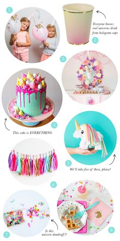 Birthday is a special day for everyone, and a perfect cake will seal the deal. Fantasy fictions create some of the best birthday cake ideas. Surprise your loved one with a creative cake that displays the best features of his/her favorite fantasy fictions! Rainbow Unicorn Party, Unicorn Birthday Parties, Birthday Fun, Birthday Party Themes, Birthday Ideas, Birthday Cake, Pony Party, Pyjamas Party, Ideias Diy