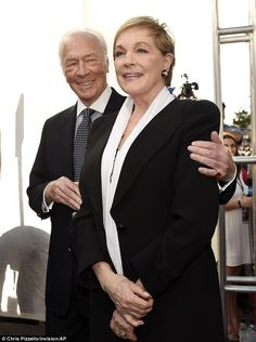 The Sound of Music!!! Christopher Plummer as naval captain Georg von Trapp and Julie Andrews as Maria.