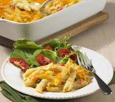 Thrifty Foods - Recipe - Cheesy Penne and Vegetable Casserole