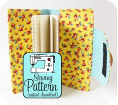 Swatch Book Cover PDF Sewing Pattern  Journal by michellepatterns