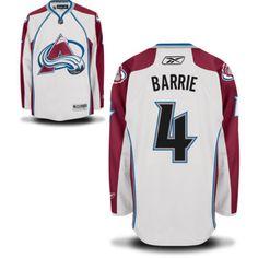 Colorado Avalanche 4 Tyson Barrie Road Jersey - White [Colorado Avalanche Hockey Jerseys 039] - $50.95 : Cheap Hockey Jerseys