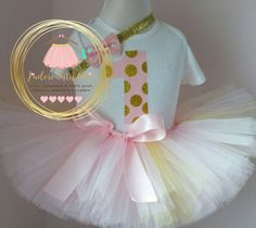 Check out this item in my Etsy shop https://www.etsy.com/ca/listing/398251549/pink-and-gold-birthday-outfit-1st