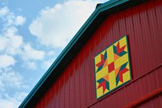 barn quilts - pretty
