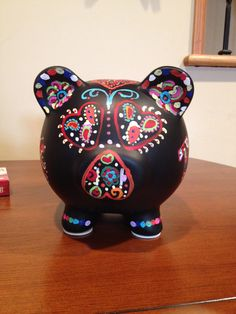 Day of the dead pig.