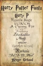 harry potter calligraphy - Google Search