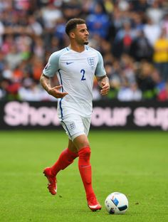 Kyle Walker of England in action at Euro 2016.