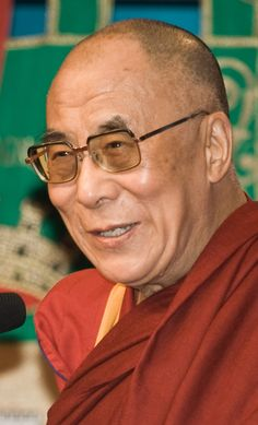 His Holiness The Dalai Lama. The current Dalai Lama was exiled from his seat of power, Tibet by Chinese forces. He is an incarnate god on earth for Tibetan Buddhists.