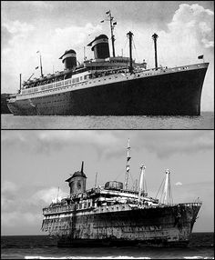 shipwrecking:  The life and death of SS America.