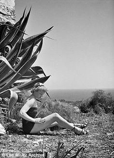 After the war, Lee shot 'In Sicily' for British Vogue, playing up the touristy, foreign-vacation angle