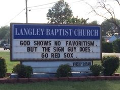GO Red Sox!(and stay out of the way of the runners, eh? Red Sox Baseball, Baseball Socks, Boston Sports, Boston Red Sox, Funny Church Signs, Church Memes, Funny Signs, Red Sox Nation, Boston Strong