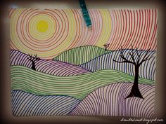 Line Landscapes:  Draw The Line At