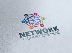 Network Logo by eSSeGraphic on @creativemarket