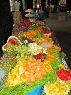 creative fruit displays | Wedding & Party Photo Gallery