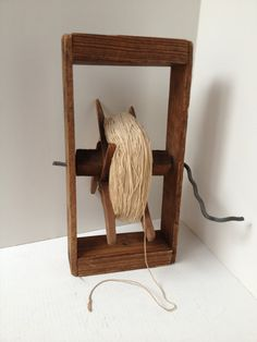 Remember watching as your kite disappeared into the clouds?  Primitive Handmade String Winder OOAK by itsasimplelife on Etsy, $15.00