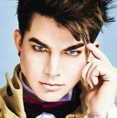 adam lambert. I dont care that he's gay, he's still adorable.
