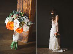 textured bouquets - photo by Morgan Trinker http://ruffledblog.com/irish-themed-wedding-in-nashville