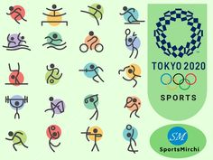 Five new sports baseball/softball, karate, sport climbing, surfing, and skateboarding have been introduced for the first time Summer Olympics history and these will be played during 2020 Olympics in Tokyo. Olympic Sports List, Summer Olympics Sports, Olympic Idea, Kids Olympics, Japan Olympics 2020, Olympic Crafts, Olympic Gymnastics, Gymnastics Quotes, Tokyo 2020