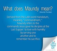 Maunday Thursday bible verses   Thursday, 21 April 2011