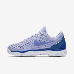 0aa8f572bbc10 Nike Court Zoom Cage 3 HC Royal Tint Military Blue White Monarch Purple  Women  Nike  nikeshoes  nikewomen  womenshoes