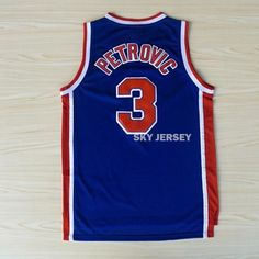 Aliexpress.com : Buy Free Shipping Throwback Basketball Jersey, Brooklyn #3 Drazen Petrovic Jersey, Wholesales High Quality Retro Basketball Jerseys from Reliable jersey jerseys suppliers on Sky Jersey  | Alibaba Group