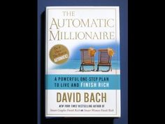 David Bach The Automatic Millionaire Audiobook ~ YouTube