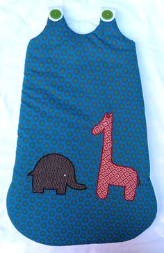 Unisex Baby Sleeping Bag  100 Cotton  Handmade in by MathildeAndCo, £30.00