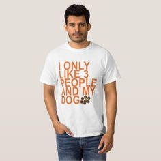 3 people and my dog . T-Shirt - diy cyo customize create your own personalize