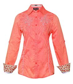 CENTENIAL - CORAL- Shirts- Roar Clothing [$90]