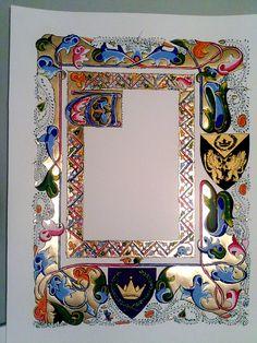 East Kingdom Artemisia Gift Scroll by hollyann
