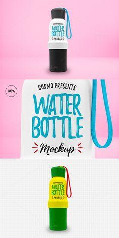Water Bottle - Mockup. Product Mockups. $4.00